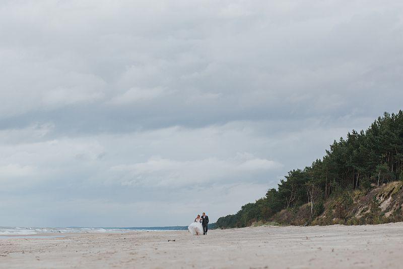 sesja ślubna gdańsk nad morzem fotografia