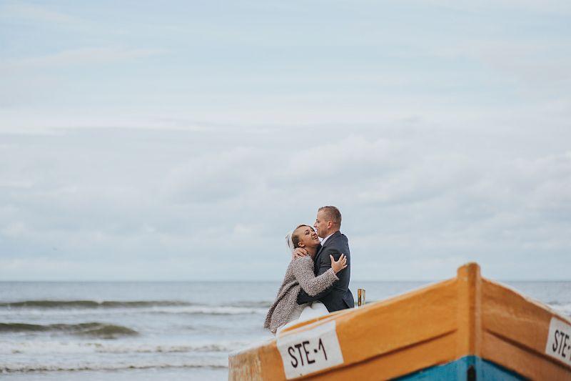 sesja ślubna gdańsk nad morzem fotograf