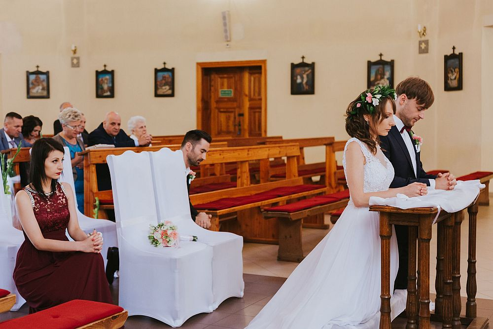 reportaż ślubny w Człuchowie fotografia