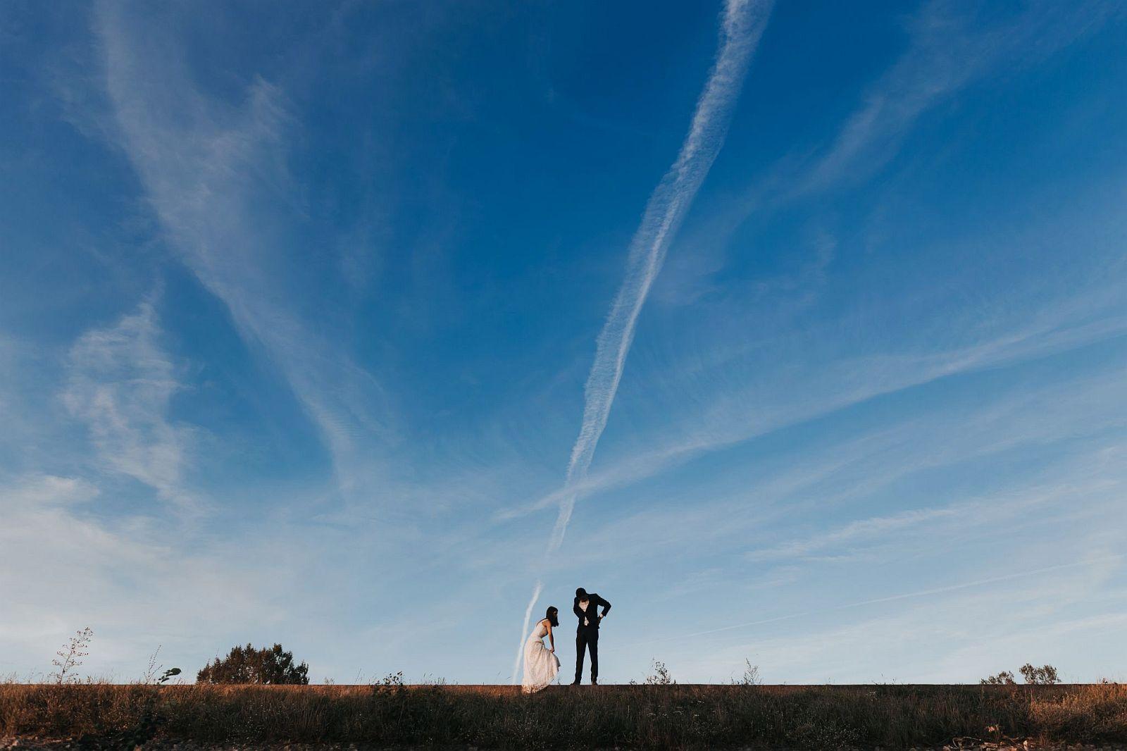 sesja ślubna w lesie bulwary wiślane