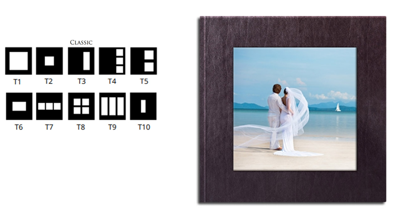 fotoalbum ślubny fotoksiążka rodzaj okładki