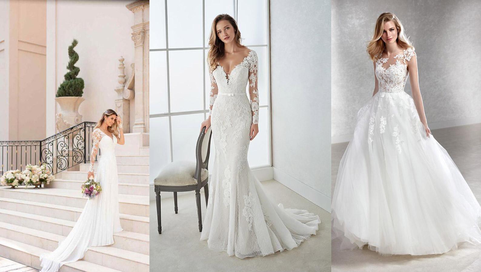 modne suknie ślubne w 2018 i 2019 roku